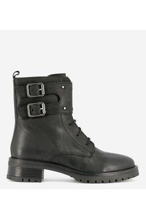 IKKS Boots rangers en cuir