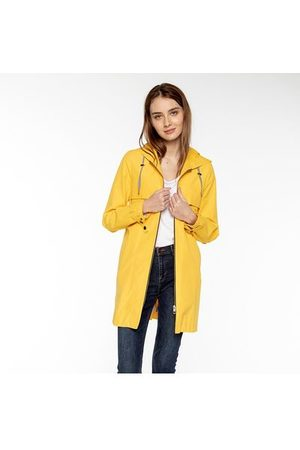 Trench and coat Parka en coton mélangé