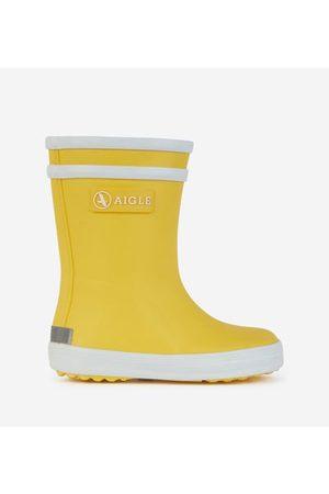 Aigle Bottes de pluie Baby Flac jaunes