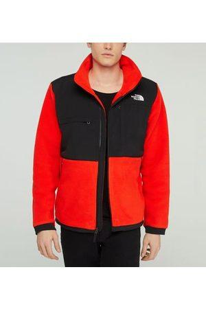 The North Face Veste droite en polaire et nylon contrastant