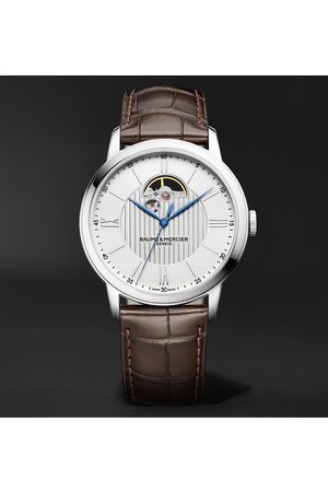 Baume & Mercier Homme Montres - Classima Automatic 42mm Stainless Steel And Alligator Watch, Ref. No. Moa10524