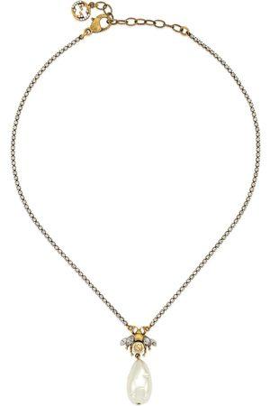 Gucci Collier abeille avec perle