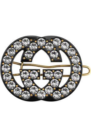 Gucci Barrette GG en cristaux