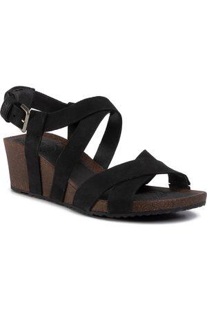 Teva Femme Sandales - Sandales - Mahonia Wedge Cross Strap 1106860 Blk
