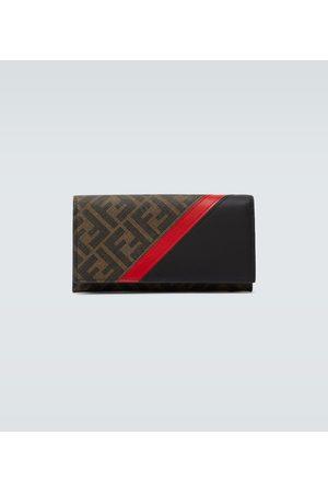 Fendi Porte-monnaie continental à logo FF