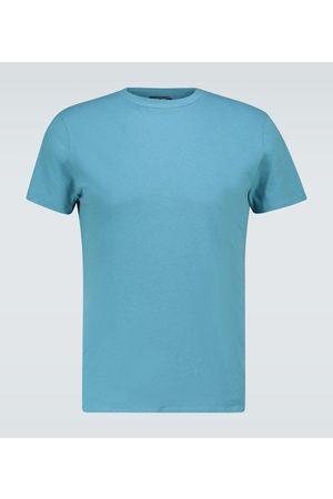 Frescobol Carioca T-shirt en coton et lin mélangés