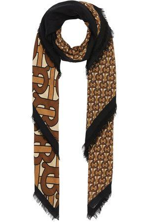 Burberry Monogram-print scarf