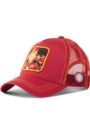 Capslab Homme Bonnets - Casquette - Marvel Iron Man CL/MAR/1/IRO1 Red