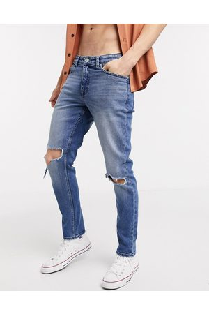 New Look Femme Skinny - Jean skinny déchiré aux genoux
