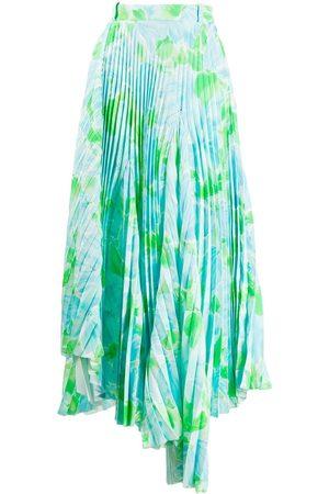 Balenciaga Dynasty Plissee Skirt