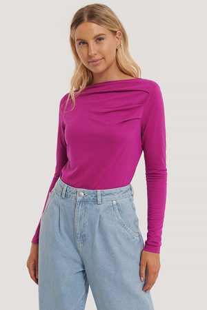NA-KD Top Manches Longues - Purple