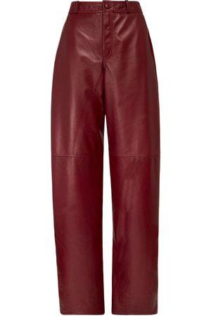 "NYNNE Pantalon En Cuir Taille Haute ""briony"""