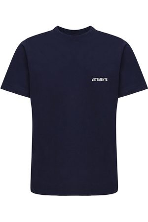 Vetements T-shirt En Coton Imprimé Logo