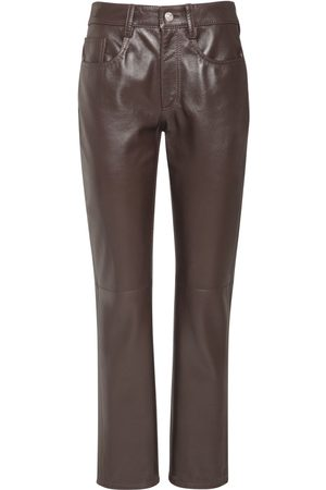 MM6 MAISON MARGIELA Pantalon Droit En Cuir