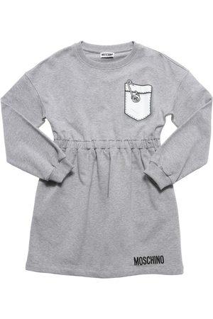 Moschino Robe En Coton Avec Poche