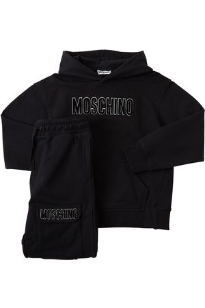 Moschino Sweat-shirt & Pantalon De Sport En Coton