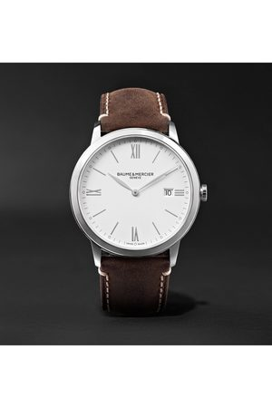 Baume & Mercier My Classima 40mm Stainless Steel and Leather Watch, Ref. No. 10389