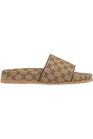 Gucci Claquettes GG Supreme à motif monogrammé