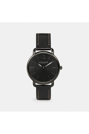 COACH: Montre fine Delancey, 40 mm in - Size MEN