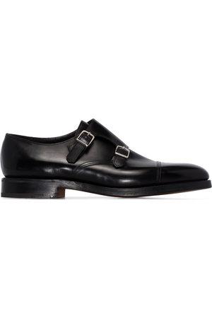 JOHN LOBB Chaussures à boucles en cuir