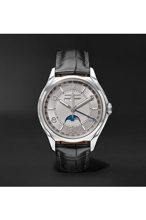 Vacheron Constantin Traditionnelle Automatic Complete Calendar 40mm Stainless Steel and Alligator Watch, Ref. No. 4000E/000A-B439 X40A2017