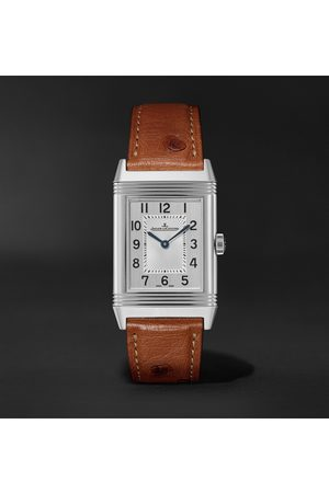 Jaeger-LeCoultre Homme Montres - Reverso Classic Medium Thin Hand-Wound 24.4mm Stainless Steel and Ostrich Watch, Ref. No. Q2548441