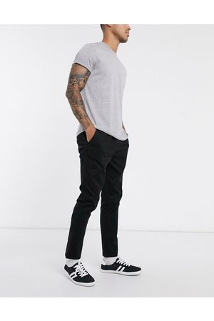 ASOS Pantalon chino slim avec taille élastique
