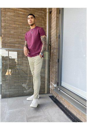 ASOS Femme Chinos - Pantalon chino skinny à taille élastique
