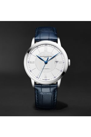 Baume & Mercier Classima Automatic 42mm Stainless Steel and Alligator Watch, Ref. No. M0A10333