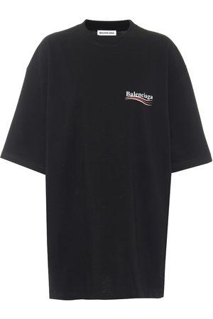 Balenciaga T-shirt oversize en coton à logo