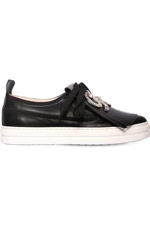 """Roger Vivier Sneakers En Cuir """"call Me Vivier"""" 20 Mm"""