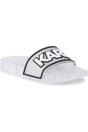 Karl Lagerfeld Mules / sandales de bain - KL80710 Clear Rubber