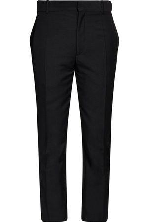 Alexander McQueen Pantalon En Laine Et Mohair 17 Cm