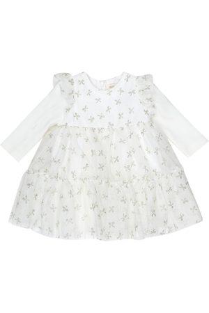 MONNALISA Bébé – Robe en tulle à paillettes