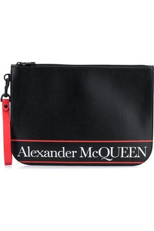 Alexander McQueen Logo-print clutch