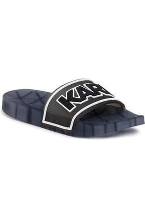 Karl Lagerfeld Mules / sandales de bain - KL80710 Black Rubber
