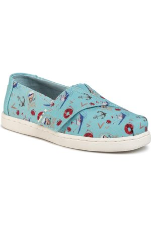 TOMS Fille Chaussures basses - Chaussures basses - Classic 10015191 Canal Blue Sea
