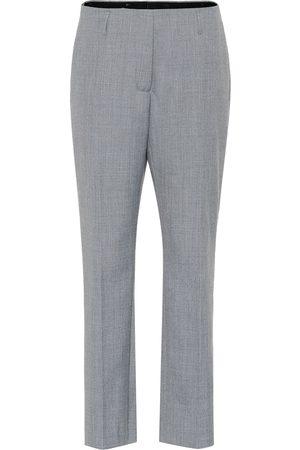 DRIES VAN NOTEN Pantalon droit en laine mélangée