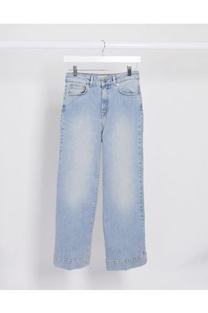 Selected Femme - Jean court coupe large