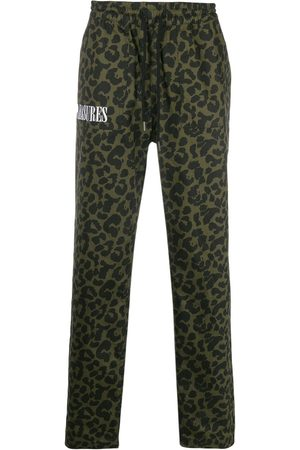 Pleasures Pantalon ample à imprimé léopard
