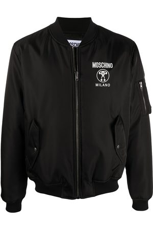 Moschino Double Question Mark bomber jacket