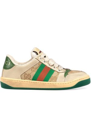 Gucci Baskets Supreme GG Web