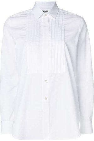 Saint Laurent Chemise à plastron plissé