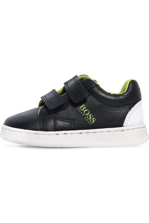 HUGO BOSS Sneakers À Scratch En Simili Cuir