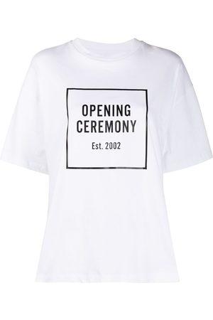 Opening Ceremony T-shirt ample à logo imprimé