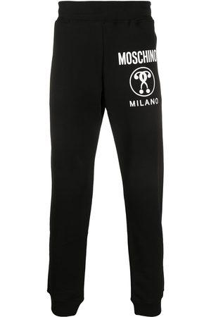 Moschino Pantalon de jogging Double Question Mark