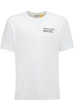"""Moncler Genius T-shirt En Jersey De Coton Avec Logo """"fragment"""""""