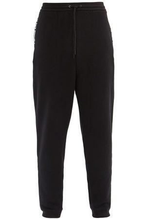 Moncler Homme Joggings - Pantalon de jogging en jersey de coton à logo