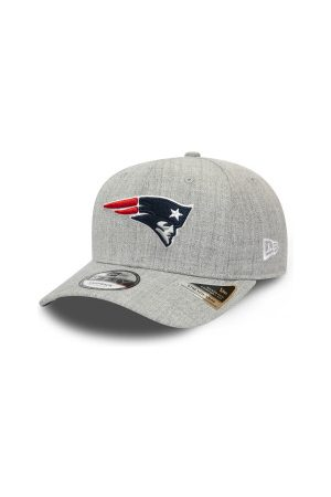 New Era Casquettes - Casquette NFL New England Patriots Heather Base 9Fifty