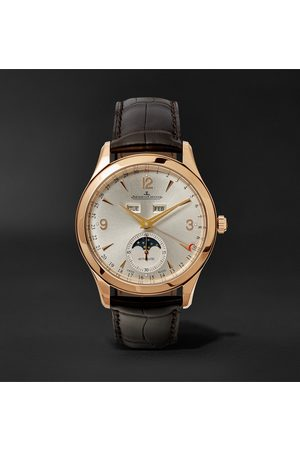 Jaeger-LeCoultre Homme Montres - Master Calendar Automatic 39mm 18-Karat Rose Gold and Alligator Watch, Ref. No. JLQ1368420